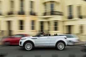 range rover convertible range rover evoque convertible heads off road autocar