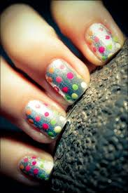 13 best polka dot nails images on pinterest polka dot nails dot