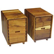 Timber Filing Cabinets Jim Sweeney Koa Filing Cabinets For Sale At 1stdibs