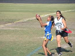 Flag Football Running Plays Varsity Girls Flag Football 3 3 With Four Games To Play The Circuit