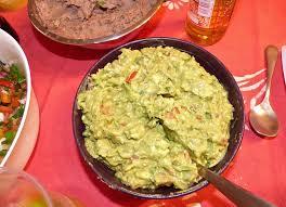 cuisine mexicaine recette le guacamole mexicain la cuisine de micheline