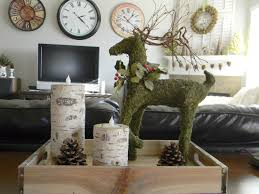 christmas decorations for sofa table romantic coffee table decoration for best interior design with gray