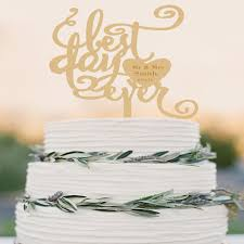 personalized cake topper rustic cake topper wedding custom cake topper wood cake topper