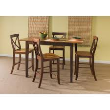 Shaker Dining Room Chairs by International Concepts Espresso Skirted Pub Bar Table K581 3030