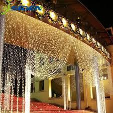 icicle christmas lights osiden led string 3mx3m 300led curtain light icicle christmas