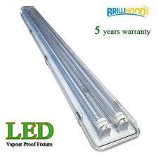 Led Fluorescent Light Fixtures 4ft Vapor Proof Ip65 Led Garage Fluorescent Light Fixture W 2x