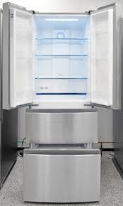 haier hrf15n3ags 28 inch compact french door counter depth