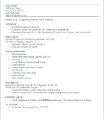 resume objective for engineering internships resume objective mechanical engineer europe tripsleep co