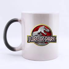 design coffee mug custom cool jurassic park dinosaur customized design coffee mug