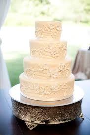 white wedding cake white wedding cakes southern living
