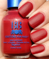 buy cool and soft red summer red matte satin nail polish colors