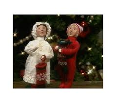 byers choice carolers boy or with qvc