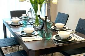 kitchen table setting ideas modern table settings ideas dining table setting ideas