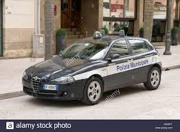 Cool Stock by Alfa Romeo Police Car Polizia Municipale Italy Italian Force Cool