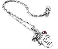 Children S Birthstone Jewelry Kids Names Necklace Children U0027s Birthstone Necklace Mothers