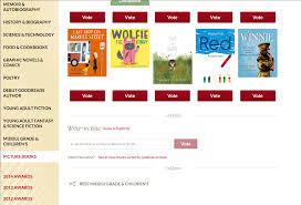 vote for the publishing hen in the goodreads choice