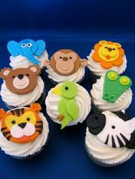 this fondant jungle animals set makes the perfect addition to a