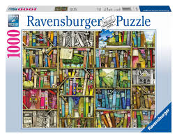 puzzle colin thompson magic library ravensburger 19137 1000