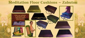 meditation cushions zabutons meditation cushion floor mats