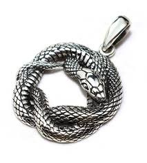 snake pendant necklace images Famous design snake top sterling 925 silver pendant jewelry JPG