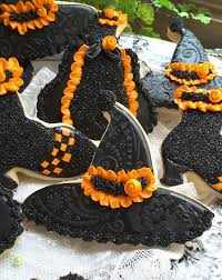 witchy style halloween cookies pinterest fall cookies