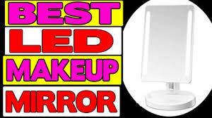assis led lighted makeup mirror 10x magnifying led lighted makeup mirror review video dailymotion