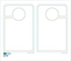 15 door hangers psd vector eps pdf