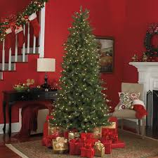 sylvania 7 5 staylit pre lit artificial twinkling tree