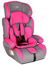 siege auto amazon tectake car seat 1 2 3 1 12 years 9 36 kg pink grey