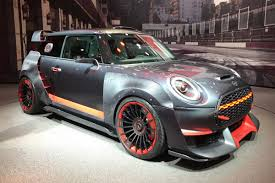race inspired mini john cooper works gp concept uncovered auto