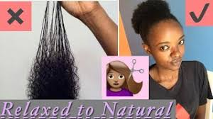 how to trim relaxed hair how to trim