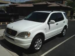 2000 mercedes ml430 find used 2000 mercedes ml430 suv white for sale in