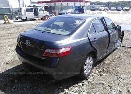 toyota camry 201 4t1be46k37u119623 salvage greater than 75 gray toyota camry