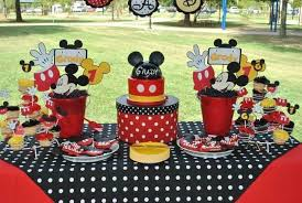 mickey mouse decorations birthday ideas