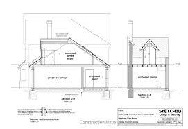 Dormer Extension Plans Garage Conversion Plan 2