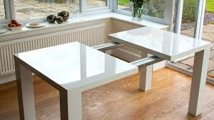 Extending Dining Table And Chairs Uk Danetti White Gloss Extending Table Massimo Extending White Glass