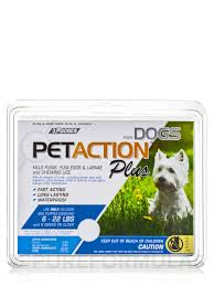 petaction plus flea and tick treatment for small dogs 3 doses