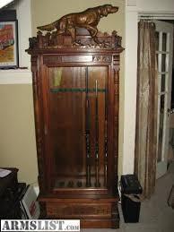gun cabinet for sale antique gun cabinets antique furnitures antique gun cabinet flc