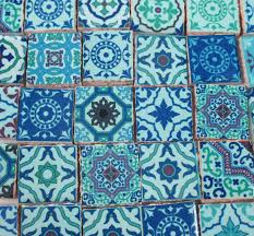 moroccan tile ceramic mosaic tiles bright colors medallions moroccan tile