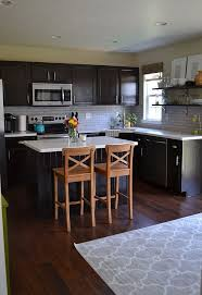 backsplash for dark cabinets and dark countertops kitchen reveal dark cabinets light counters hometalk