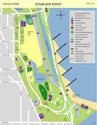 Bike Map Chicago by Lincoln Park South Fields Map Allsportsseries Com