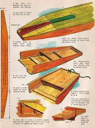 Simple Wood Boat Plans Free by Free Plans To Build An English Style Punts From An Old Children U0027s