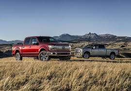 ford shows off its new 2018 f 150 pickup at detroit auto show