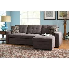 Chenille Sleeper Sofa Coaster Chenille Sleeper Sofa With Storage In Charcoal And Black