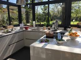veranda cuisine photo cool amenager une cuisine exterieure cuisine