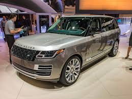 range rover blue 2018 land rover range rover svautobiography bows in los angeles