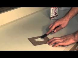 How To Get Rid Of Scratches On Corian Countertops How To Repair A Deep Scratch In Your Laminate Countertop Youtube