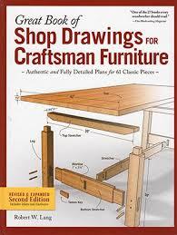 Craftsman Furniture Plans Hardcover Edition U2013 Shop Drawings For Craftsman Furniture