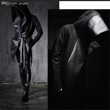 online cheap fall 2016 new fashion mens winter dress gothic trench