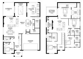 two story home plans fascinating storey house floor plans gallery best ideas